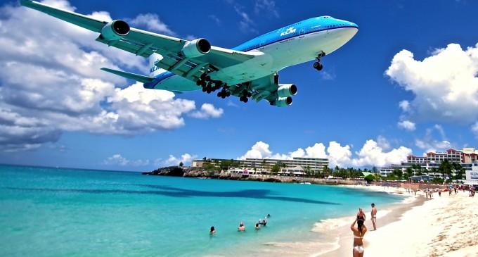 Karayiplerin en güzel adası ST Marteen'den