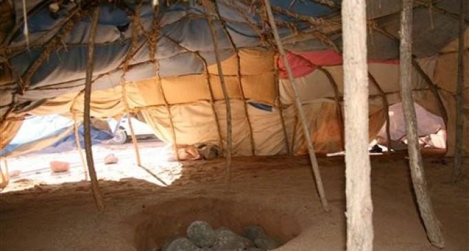 Kızılderililerde Terleme Çadırı