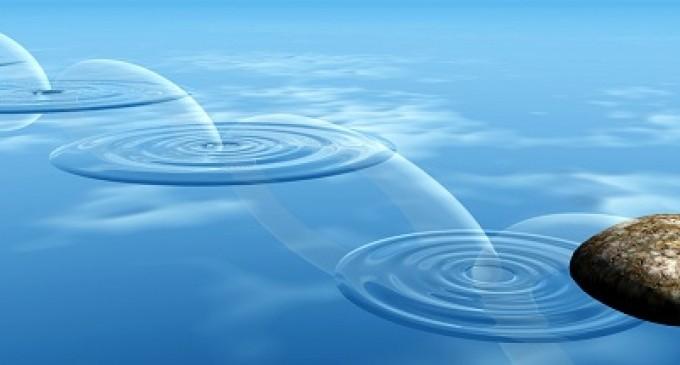 Su Üstünde Taş Sektirme