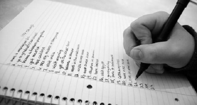 Ölmeden Önce Yapılacaklar Listesi