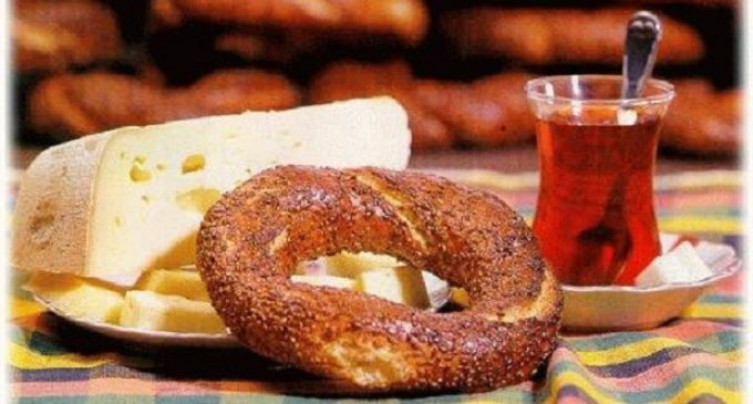 Simit, Peynir ve Çay
