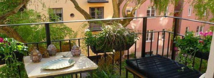 Küçük balkonlara dekorasyon önerileri