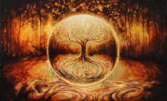 Şaman'ın âlemler arası yolculuğu – Axis Mundi