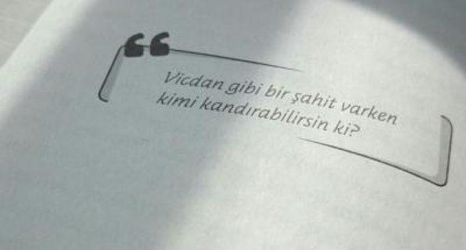 Vicdan…